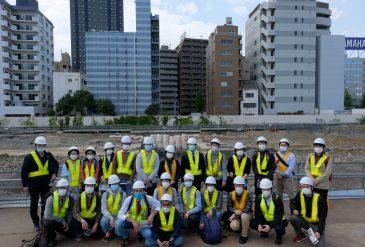 Embankment tour at Takanawa Gateway