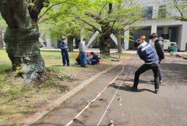 Survey practice with Kiyota-lab member