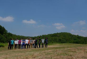 Field Survey at Abira Golf Course